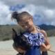Lilli and Princess at the beach